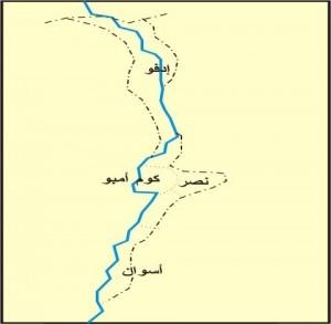 خريطة محافظة أسوان
