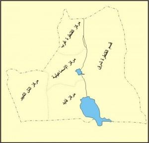 خريطة محافظة الإسماعيلية