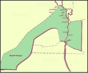 خريطة محافظة الجيزة الادارية