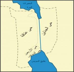 خريطة محافظة السويس