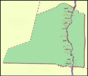 خريطة محافظة المنيا الادارية