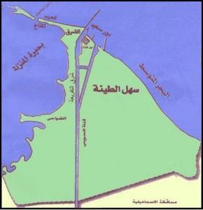 خريطة محافظة بورسعيد الادارية